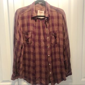 Mossimo size large flannel